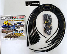 Moroso Mag-Tune Universal Spark Plug Wires Kit HEI Straight Boot (Unassembled)