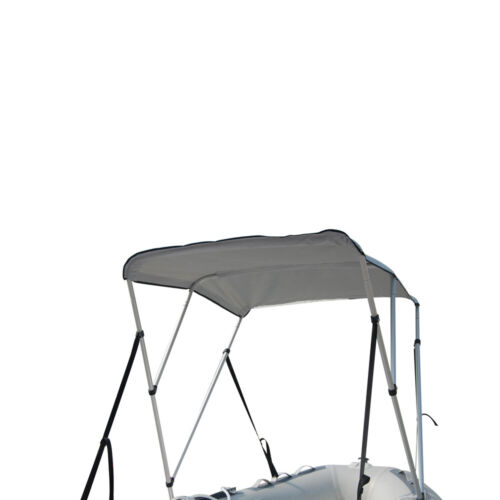Details about  /New 3-Bow Portable Bimini Top Cover Sun Canopy Suit 12-13 ft Inflatable Boat