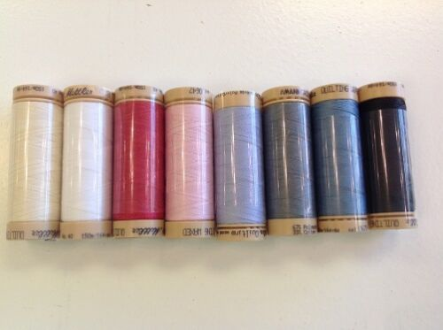 METTLER QUILTING WAXED THREADS