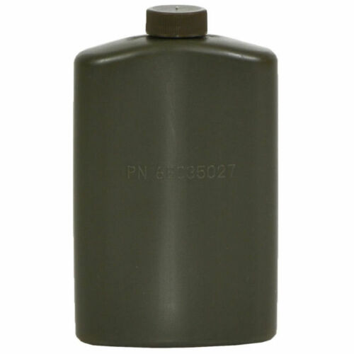 Mil-Tec 0.5L 1 Pint US Army Style NO BPA Plastic PILOT FLASK Canteen Olive OD