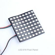 WS2812 8x8 64 LED Matrix LED 5050 RGB Full-Color Driver Black Board for Arduino