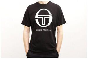 SERGIO-TACCHINI-T-Shirt-Iberis-Shirt-Black-White