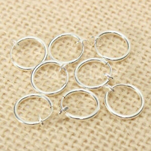 Eg-8X-Finto-Piercing-Molla-Setto-Naso-Cerchio-Labbro-Orecchio-Anello-Clip-Gioie