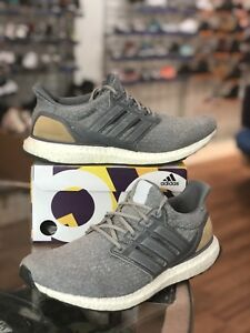 Details about Adidas Ultra Boost 3.0 LTD BB1092 Grey Leather Cage Size 9.5