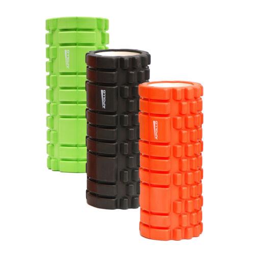 APOLLO SHIVA Massagerolle Fitness Yoga Pilates Gymnastik Rolle Foam Roll 14x33cm