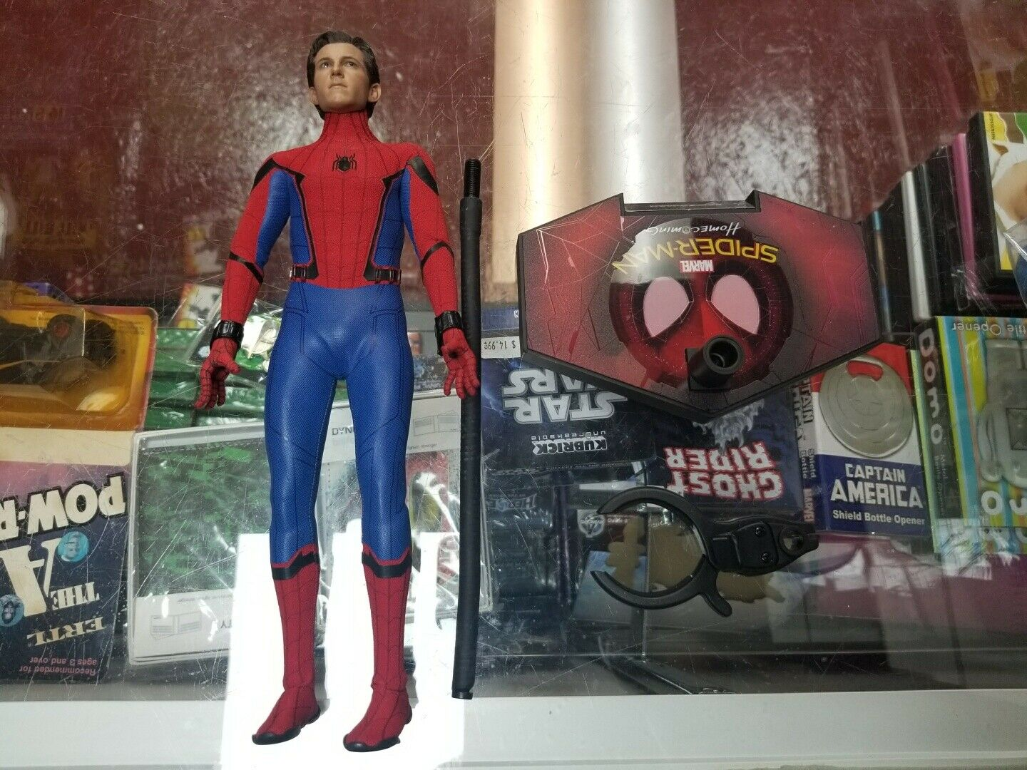 1 6 Spider-Man Homecoming Deluxe MMS 426 Hot Toys Loose JC