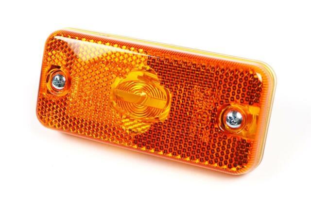 Peugeot Boxer 06- Orange Amber Side Marker Light Lamp Rectangular