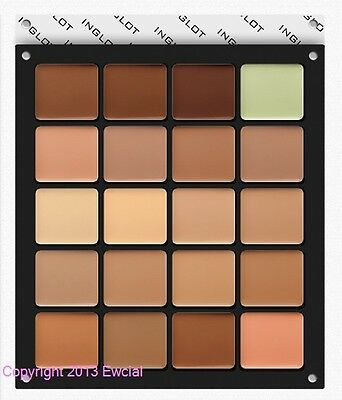 INGLOT - FREEDOM SYSTEM CREAM CONCEALER SQUARE REFILL - YOUR CHOICE