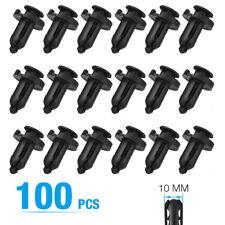 For Honda Clips Plastic Push Type Rivet Retainer Fastener Bumper 10mm Car Parts Fits 1991 Honda Civic