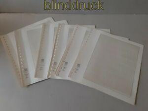 Lindner-T-Blankoblatter-13-x-802-800-gebraucht-49587