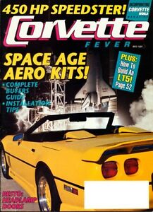 (Chevrolet) CORVETTE FEVER May 1991 magazine features 1960,1963,1966,1974,1990