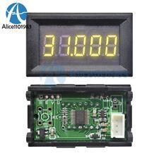 Yellow 036 Led 5 Digit Dc 0 33000v Digital Voltmeter Voltage Meter Car Panel