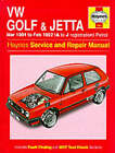 Volkswagen Golf and Jetta ('84 to '92) Service and Repair Manual by Ian Coomber (Hardback, 1988)