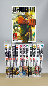 ONE-PUNCH-MAN-GN-VOL-1-2-3-4-5-6-7-8-9-10-11-12-13-VIZ-MEDIA-MANGA-COMPLETE