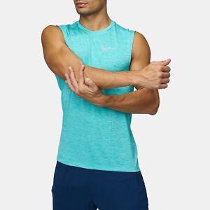 Nike-Mens-Breathe-Miler-Running-Green-Tank-Top-Size-Medium-AJ4530-434