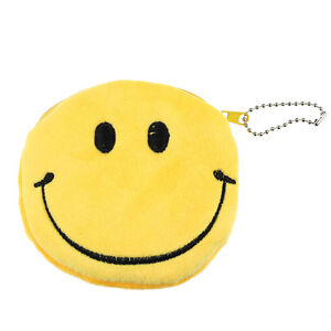 Fashion-Women-Lovely-Lady-Small-Wallet-Emoji-Smile-Purse-Bag-Gift-Happy-Gift-Y4