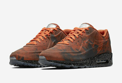 Nike AIR MAX 90 QS CD0920 600 'MARS LANDING' Mars StoneMagma Orange sz 4 13 | eBay