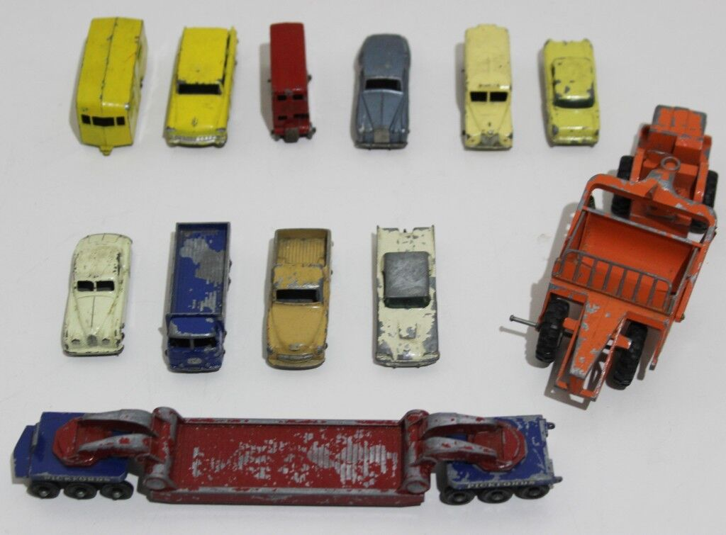 VINTAGE COLLECTION X 12  LESNEY   MATCHBOX MATCHBOX MATCHBOX - PL-3788 db0f89
