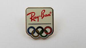 1996 RAY BAN Sunglasses Advertising Olympics Lapel Hat Pin F9