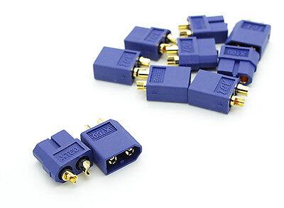 5pairs XT60 XT-60 Male/Female Bullet Connectors Plugs RC Lipo Battery (L) ~XT1B
