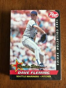 Details About 1993 Post Collector Series Baseball Card Set 30 Cards Factory Sealed