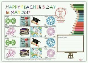 SJ-Malaysia-Happy-Teacher-039-s-Day-2017-Alphabet-personal-sheetlet-A-MNH