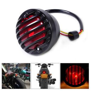 Motorcycle Tail Light Rear Lamp Fit for Harley Cruiser Cafe Racer Bobber Chopper