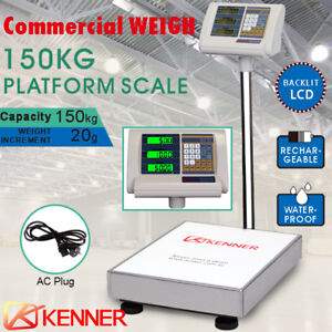 150kg Electronic Digital Platform Scale Shop Postal Scales Weight