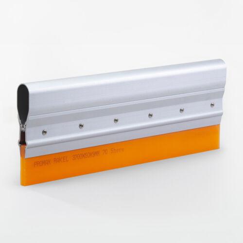 25cm Aluminiumgriff-Rakel 70 Shore für textilen SiebdruckTop Qualitätsrakel