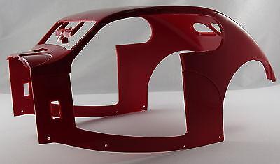 Pocher 1:8 Motorraumabdeckung Türen Set Bugatti 50T 1933 K86 86-42 I6 rot