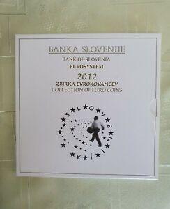 * Série complète SLOVENIE 2012 - COFFRET BU