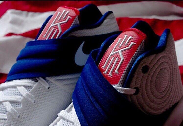 Nike kyrie 2 usa olympischen 16 weiße blau - - rot am 4. juli - - tag der unabhängigkeit 4404c7