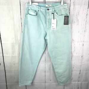 c4491042123b9 forever 21 Womens Mom Fit Jeans Retro High Waist Size 28 Faded 5 ...