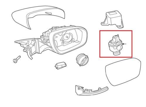 Para Land Range Rover MK4 Delantero Parachoques Trasero Vista Lateral Envolvente cámara de marcha atrás