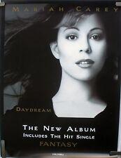 RARE MARIAH CAREY DAYDREAM 1995  VINTAGE ORIGINAL MUSIC STORE PROMO POSTER