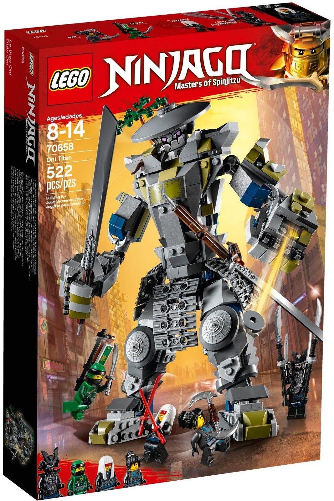 LEGO® NINJAGO™ 70658 Oni-Titan NEU OVP_ Oni Titan NEW MISB NRFB  | Schön