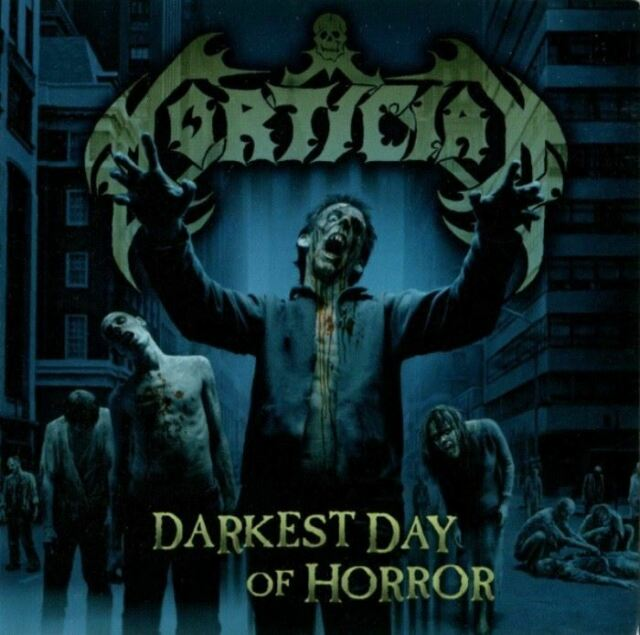 MORTICIAN darkest day of horror (CD, album) death metal, very good condition,