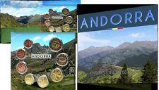 KMS ANDORRA 2015 BU : 1 Cent bis 2 euro in Offiziellen Originalblister Lieferbar