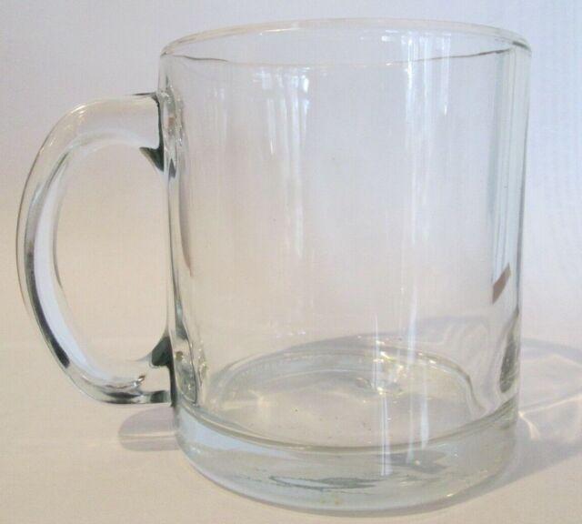 Warm Beverage Crystal Clear Coffee Mugs