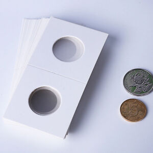 50Pcs-Portable-Stamp-Coin-Holders-Cover-Case-Storage-2X2-034-Flip-17-5mm-40mm