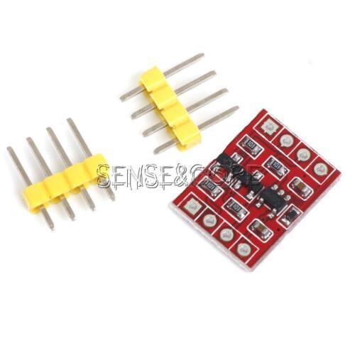 2Stks 5V-3V I2C IIC Logic Level Converter 2-CH Module Bi-Directional for Arduino