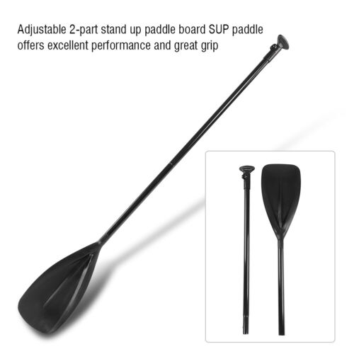 Adjustable 163-215cm 2-part Stand Up Paddle Board SUP Paddle Canoe Kayaking Oar