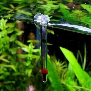 Animalerie Supply Verre Mètre Aquarium Poisson Température Eau Thermomètre Coupe Ventouse Suitable For Men And Women Of All Ages In All Seasons