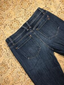 Joes-Jeans-Brand-Women-039-s-Designer-Blue-Jeans-Size-25-Chelsea-Ultra-Slim-Pants