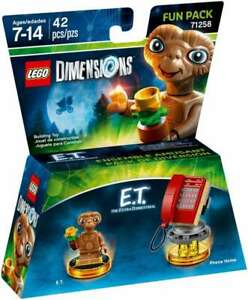 LEGO-DIMENSIONS-FUN-PACK-71258-E-T-EXTRA-TERRESTRIAL-RED-PHONE-NEW-LA028