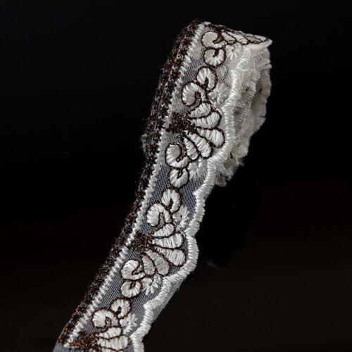 3 yards Bänder Spitze Borten Lace Brautkleid Kleidung Handwerk Nähen DIY Dekor