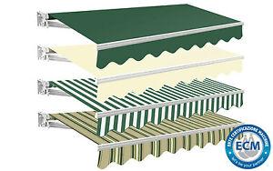 Store auvent compact manuel pare soleil protection solaire - Protege soleil terrasse ...