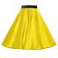 Girls-SATIN-Rock-n-Roll-Skirt-UK-1950s-Costume-Grease-Fancy-dress-ROCKABILLY thumbnail 15