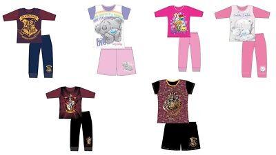 Filles Enfants Tatty Teddy Harry Potter Short Pyjamas Pjs Nightwear Long Longueur | eBay