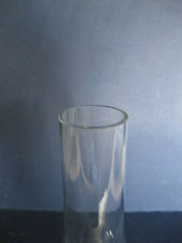 """FOR OIL LAMPS 5 cm X 20 cm CLEAR GLASS CHIMNEY 2 /"""" X 7 3//4 /"""""""
